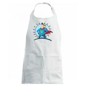 Táta superman - chlapec - Detská zástera na varenie