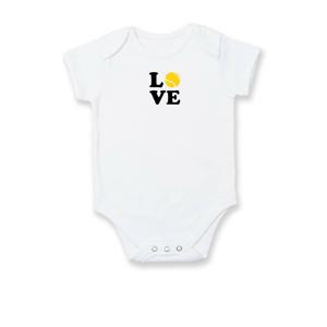 Tenis love - Dojčenské body