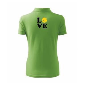 Tenis love - Polokošeľa dámska Pique Polo