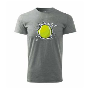 Tenisová loptička v triku - Heavy new - tričko pánske