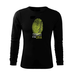Tennis is my DNA - Tričko s dlhým rukávom FIT-T long sleeve