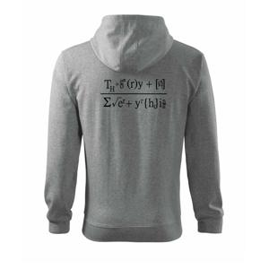 Teória všetkého (Theory of Everything) - Mikina s kapucňou na zips trendy zipper