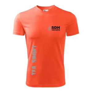 TFA Sport - reflexné - Pánske tričko Fantasy športové