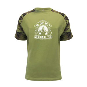 The Best Version Of You - Raglan Military