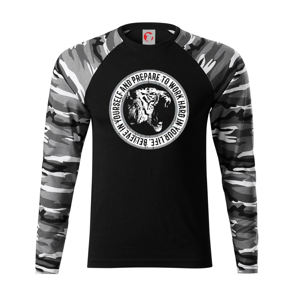 Tiger hard - Camouflage LS