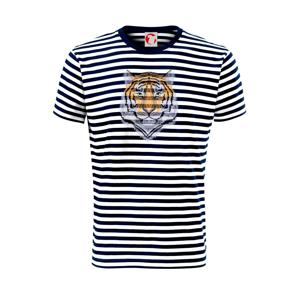 Tiger hlava - Unisex tričko na vodu