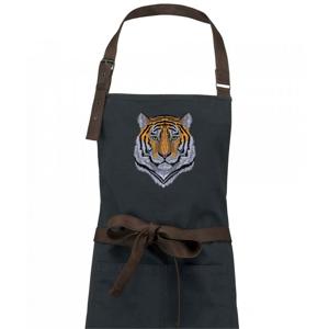 Tiger hlava - Zástera Vintage
