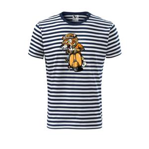 Tiger motorkárom - Unisex tričko na vodu