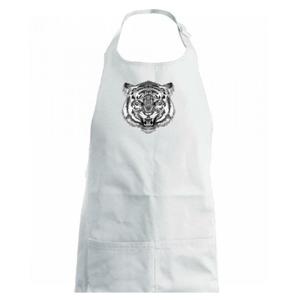Tiger trošku naštvaný - Detská zástera na varenie