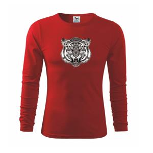Tiger trošku naštvaný - Tričko detské Long Sleeve