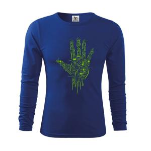 Tlačený spoj ruka - Tričko detské Long Sleeve