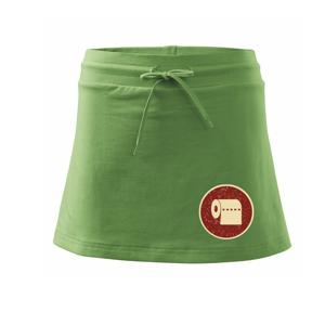 Toaletný papier - Športová sukne - two in one