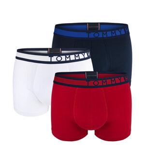 TOMMY HILFIGER - 3PACK premium inverted logo boxerky z organickej bavlny-M (77-88 cm)