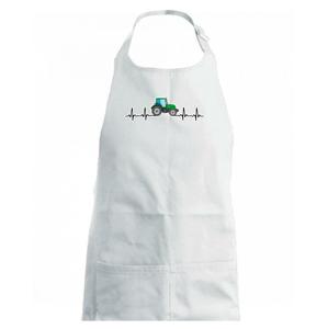 Traktor farebný ekg - Zástěra na vaření