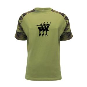 Tri baletky - Raglan Military
