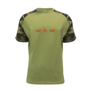 Tri jelenia - vzor - Raglan Military