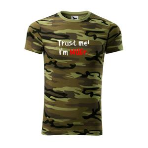 Trust me I´m  MUDr. / Ver mi som MUDR. - Army CAMOUFLAGE