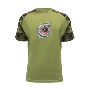 Turbo olejomaľba - Raglan Military