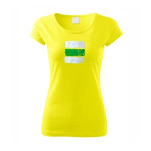Turistická značka - zelená - Pure dámske tričko