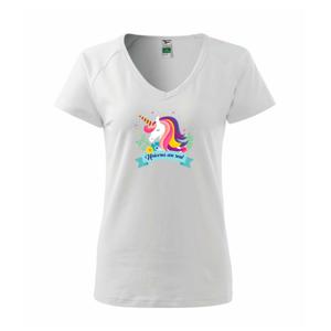 Unicorns are real dúhový - Tričko dámske Dream