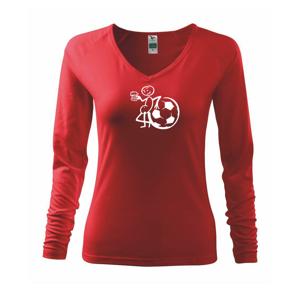 Veľký futbalista - Tričko dámske Elegance