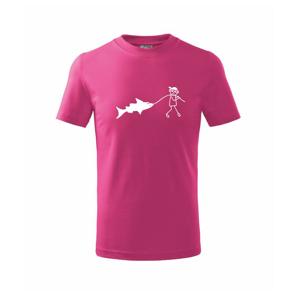Veľký rybár - Tričko detské basic
