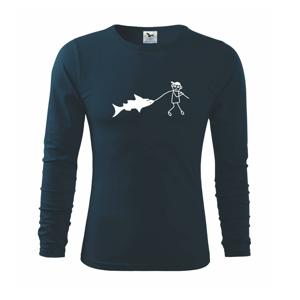 Veľký rybár - Tričko s dlhým rukávom FIT-T long sleeve