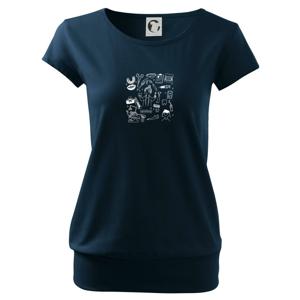 Veselá zubárka - Voľné tričko city
