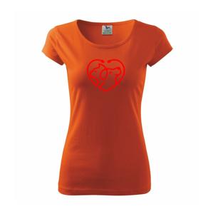 Veterinár srdce - Pure dámske tričko