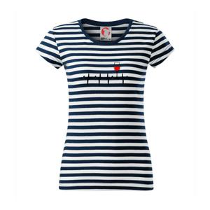 Víno ekg - Sailor dámske tričko