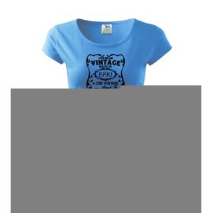 Vintage Etiketa - 1990 - Pure dámske tričko