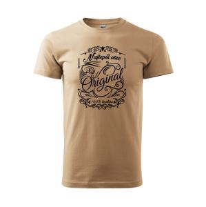Vintage - Najlepší otec - Heavy new - tričko pánske