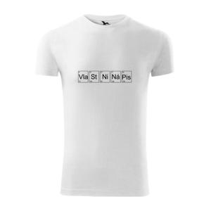 Vlastný nápis - periodická tabuľka - Viper FIT pánske tričko