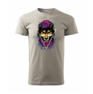 Vlčí dôchodok - Heavy new - tričko pánske