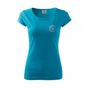 Volejbal lopta prso - Pure dámske tričko