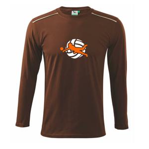 Volejbalistka - Tričko s dlhým rukávom Long Sleeve