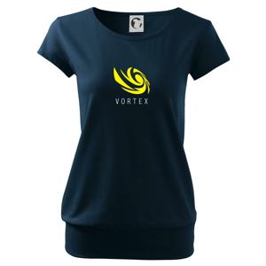 Vortex logo farebné - Voľné tričko city