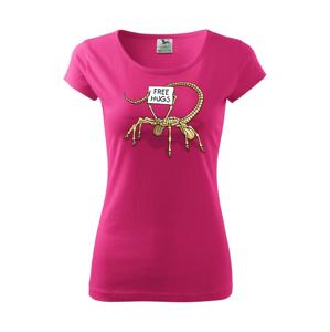 Votrelec - free hugs (Hana-creative) - Pure dámske tričko