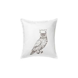 Výr bielobradý great horned owl - Vankúš 50x50
