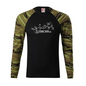 Vysoke Tatry - profil cesty - Camouflage LS