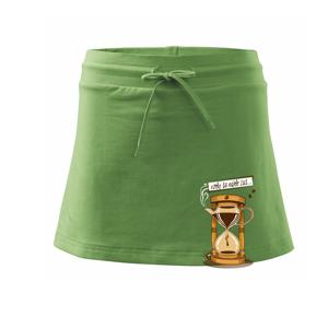 Vždy sa nájde čas na kávu (Pecka design) - Športová sukne - two in one