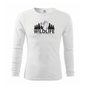Wildlife fishing - Tričko detské Long Sleeve