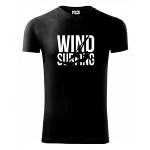 Windsurfing nápis - Viper FIT pánske tričko