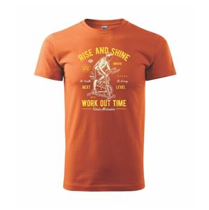Work Out Time - Heavy new - tričko pánske