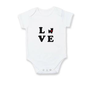 Yorkshire terier love - Dojčenské body