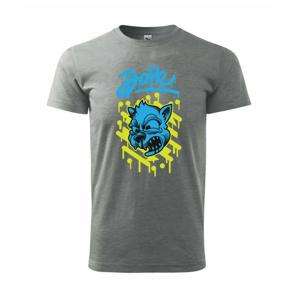 Zdrogovaná mačka - Heavy new - tričko pánske