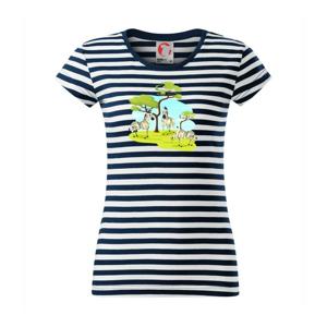 Zebry pod stromom - Sailor dámske tričko