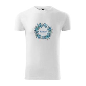 Ženích a nevesta - kvetinový venček (Pecka design) - Viper FIT pánske tričko