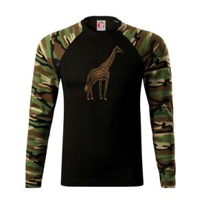 Žirafa stojaca - Camouflage LS