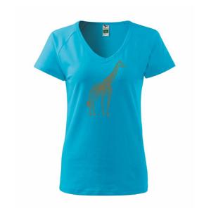 Žirafa stojaca - Tričko dámske Dream